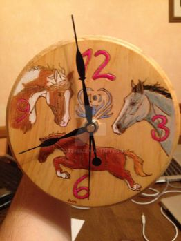 Horse Clock by Jazzy23