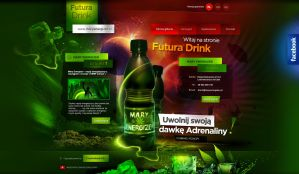 FUTURA DRINK - graphic design -www by webdesigner1921