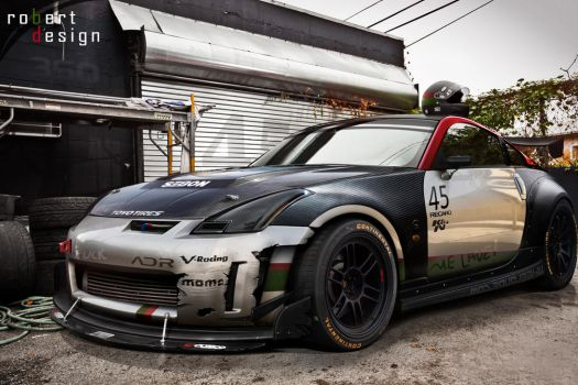 350Z Time Attack by Rob3rT----Design