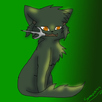 kisshu as a kitty by purple-reaper