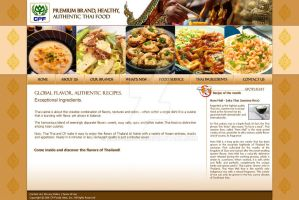 CP foods Website by shapemetal