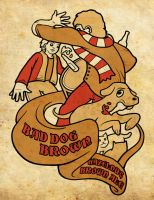 Bad Dog Brown Ale by PaxsonArt