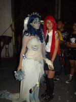 Erza Scarlet and Corpse Bride Cosplays by JNCosplayers