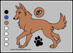 Blue reference sheet by loiswolf