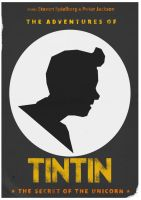 Tintin Poster by W0op-W0op