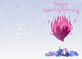 Hearth Warming Card by feather-chan