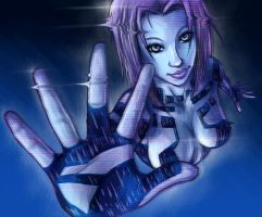 Cortana by blue-brandon