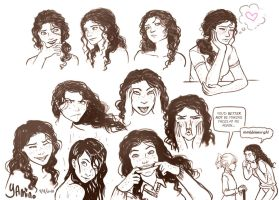 Emily Sketchdump2 by Yamino