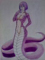 Naga colorfull by SamaelAlighieri