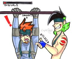 Not So Solid Snake: Grip LVL 1 by Hades-O-Bannon