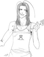 Saiyuki - Kiss the cook? by uberdomkumagoro