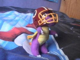 Spyro's Getting Ready For The Game! 4 by DazzyDrawingN2