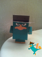 Perry Platypus Cubee Finished by rubenimus21