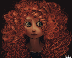 Merida by butterflybudda