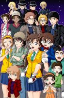 The World of Detective Conan by CelestialRayna