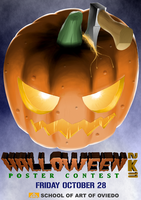 HALLOWEEN poster contest 2K11 by OSuKaRuArT