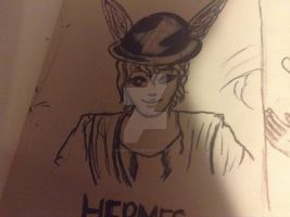Hermes by Falloutdaylenne