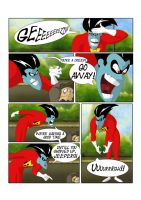 Freakazoid and Jeepers, page 2 by SammyTorres