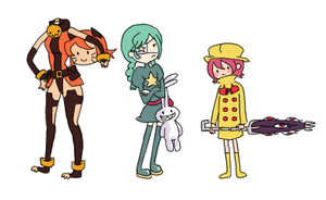 Skullgirls Characters 2 by jobobanana