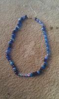 Blue Beaded Necklace by StrawberryGemini