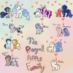 The royal/ apple family by karsisMF97