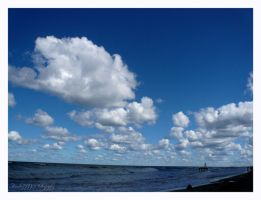 White clouds by Amelie1994