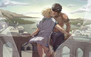 CaptivePrince - Balcony nsfw BL by chiihun
