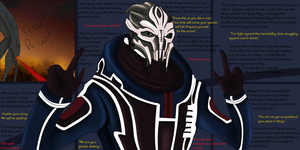 Ah, yes, Reapers. (Mass Effect) by MilleniaValmar