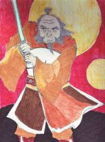 Jedi Master Iroh by Caranth