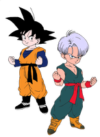 Goten and Trunks by Evil-Black-Sparx-77
