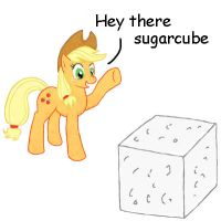 AJ and her sugarcube by Ashby10