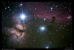 The Horsehead and The Flame by CapturingTheNight