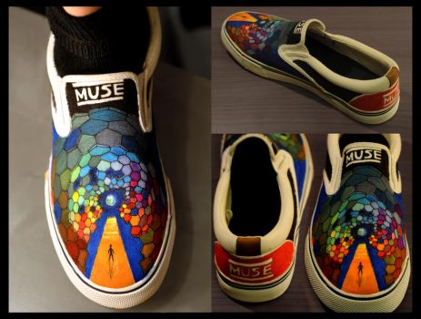 Muse Custom Shoes by Bonvallet