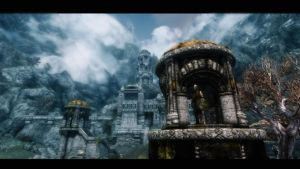 Guard Towers of Markarth by lupusmagus