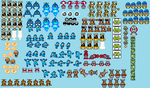 Megaman Maximum Enemies V.1,3 by hfbn2