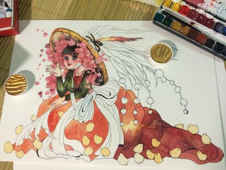 chicken year  by Lovepeace-S