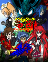 Highschool dxd The devil prince poster by brunolin