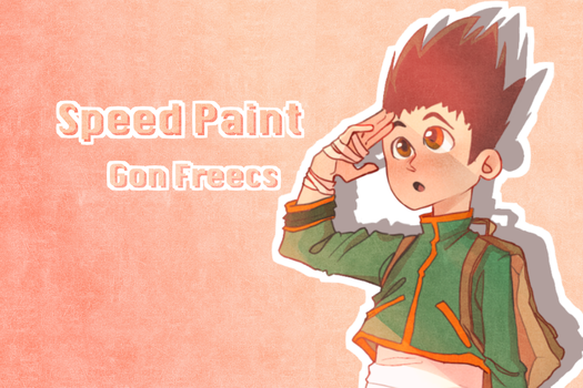 Gon Freecs Speedpaint by almost-casey