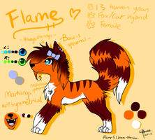 .:Flame ref:. -OUTDATED- by Liara-Chan