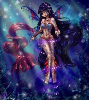 Musa Seafairyum. melody of flow by arielfairy