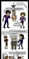 Sherlock: Experimentation by blackbirdrose