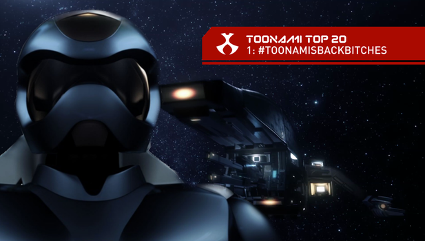 Toonami Top 20 - Toonami's Back Bitches by JPReckless2444