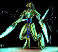 Protoss Warrior by Muoteck