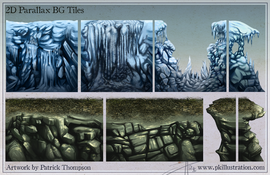 High quality platformer tiles by patthompson008