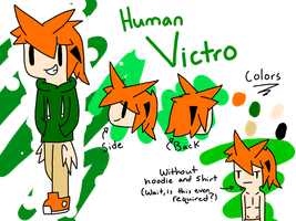 Human Victro Reference by SapphireCharm0089