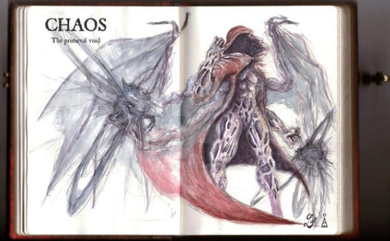 - SMITE - God concept: Chaos, the primeval void. by Lu0ren
