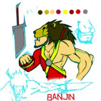 Banjin the Oriental Viking by Dr3wdub