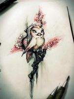 Birdy 18Jan2014 by paperpixy