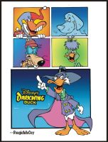 Darkwing Duck by dougie-mccoy