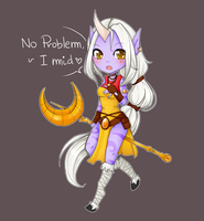 Chibi Soraka - League of Legends by linkitty